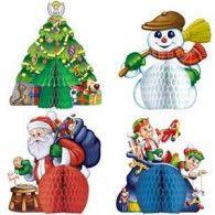 Centrepieces Christmas Mini Pkt4 $11.95 BE20373