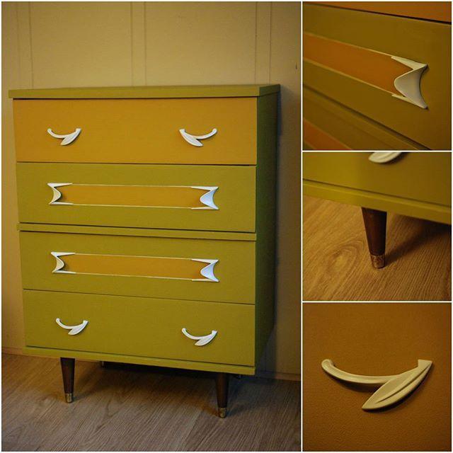 Cheerful Retro Dresser - Sold.  #retro #dresser