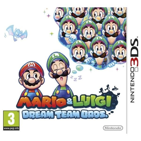 Mario & Luigi Dream Team Game 3DS | http://gamesactions.com shares #new #latest #videogames #games for #pc #psp #ps3 #wii #xbox #nintendo #3ds