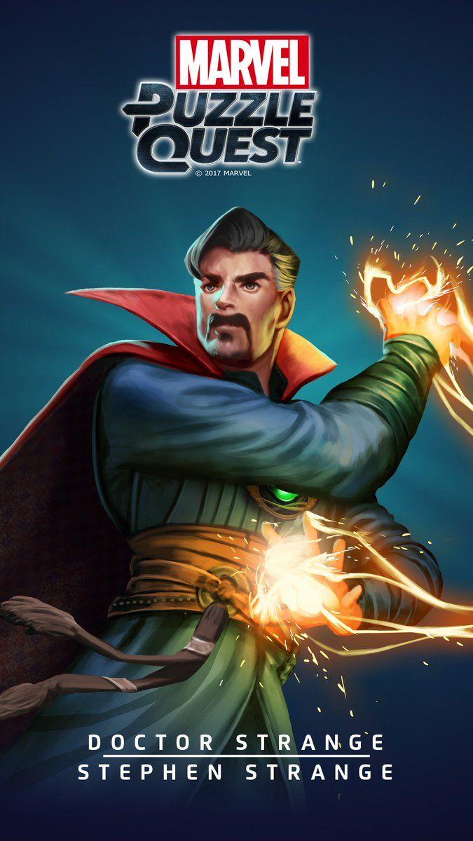 DOCTOR STRANGE (Stephen STRANGE)   3 Stars   Flames of the Faltine   Marvel PUZZLE QUEST