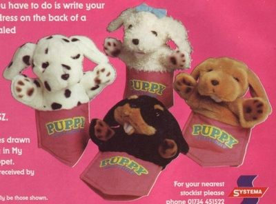 Soft Toys - Puppy in my Pocket