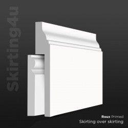 Roux MDF Skirting Board Cover (Skirting Over Skirting)