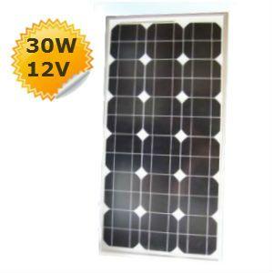 Panneau solaire 30W 12V monocristallin