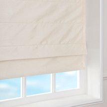 Blackout Faux Silk Roman Blind | Dunelm
