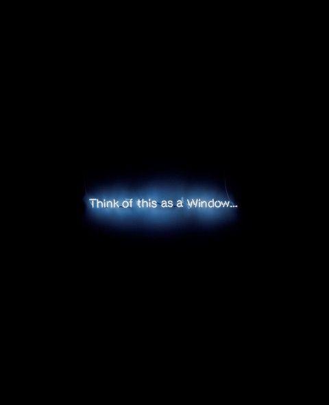 Cerith Wyn Evans - Think of this as a Window… - 2005 - Städtische Galerie im Lenbachhaus und Kunstbau, Monaco di Baviera