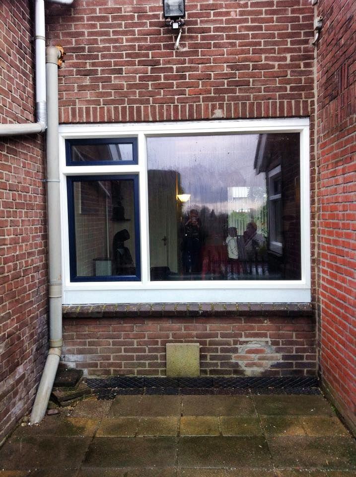Kunststof kozijn van Bogers kozijnen www.bogers.nl