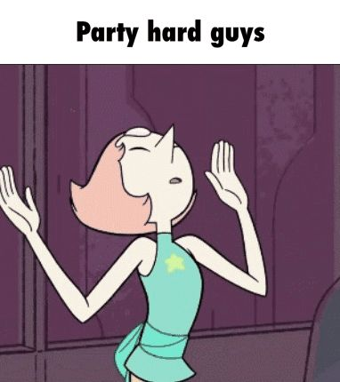 Party hard guys GIF