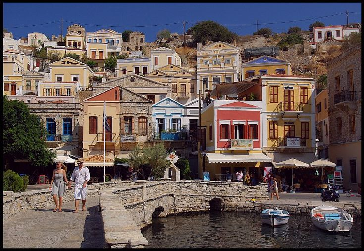 Symi - Morning walk through the eyes of Budapestman