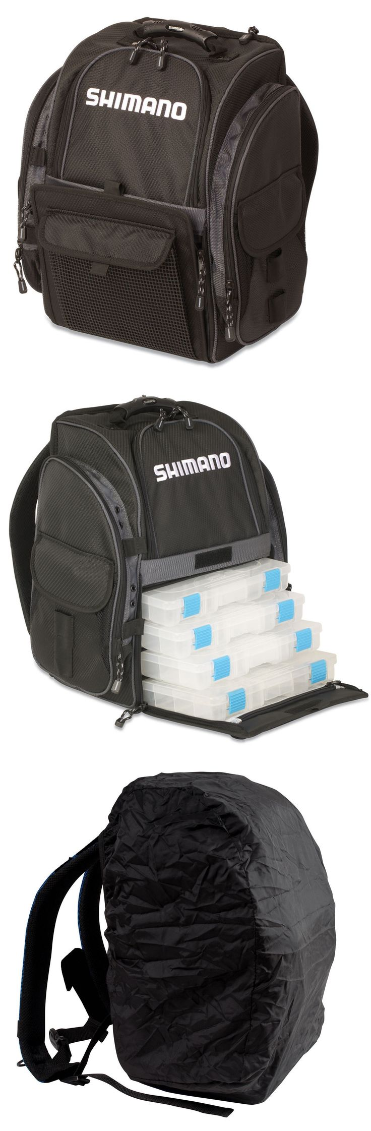 Tackle Boxes and Bags 22696: Shimano Blackmoon Fishing Backpack Medium -> BUY IT NOW ONLY: $112.49 on eBay!