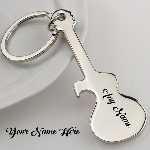 Print Two Name On Unique Guitar Keychain Online, Write Anything Name Text Add On Beautiful Style Guitar Key Chain Photos, Created Your Name Latest Cool Guitar Key Chain Images, Amazing Music Guitar Key Chain With My Name Generated Pictures, Whatsapp and Facebook On Sand and Share DP Profile, Love Music Guitar Wallpapers Download Free
