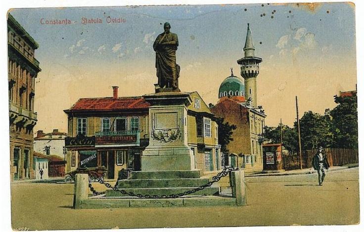 Constanta - Piata Ovidiu - 1922