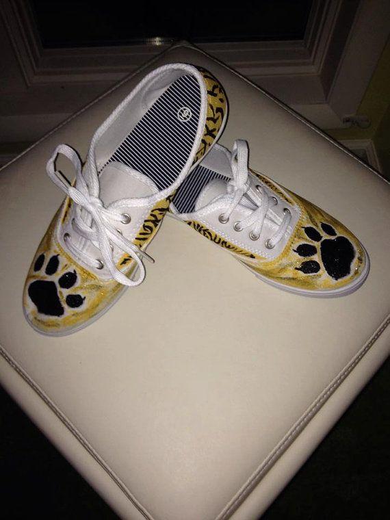 Paw Print Tennis Shoes