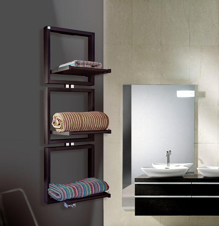 Towel Warmer TRIS By DELTACALOR | #design Peter Jamieson #bathroom