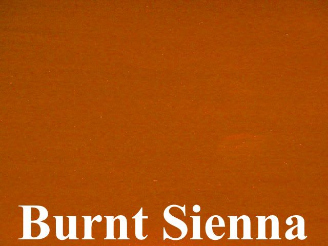 Burnt Sienna Is An Iron Oxide Pigment A Warm Mid Brown