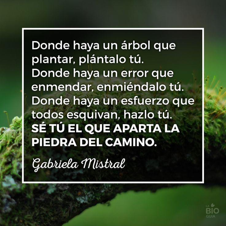 Gabriela Mistral #frases #quote  #inspiracion #citas