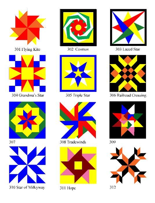 Wooden Barn Quilt Blocks made in the USA