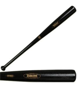 Baum AAA Pro Composite Wood Baseball Bat A design clone of the five most popular Major League hardwood bats The AAA Pro Baum Bat hits, feels, looks and sounds exactly like wood, with a maximum diameter of 2.505 inches and a sweet spot diameter of 2.473 inches The major difference is its durability BBCOR stamped