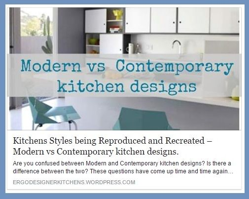 The lines between what constitutes Modern and Contemporary are often blurred. Even though a kitchen that incorporates traditional elements from various eras can be Contemporary, it cannot be Modern as that refers to a specific period in time. What was previously considered mid-century Modern is now being reproduced and recreated in Contemporary kitchens.
