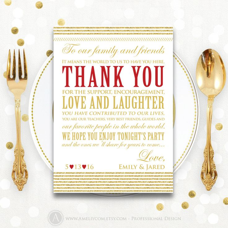 Now selling: Wedding Table Thank You Cards Printable template, Editable Personalized Thank You Cards Gold & Red ... https://www.etsy.com/listing/259619987/wedding-table-thank-you-cards-printable?utm_campaign=crowdfire&utm_content=crowdfire&utm_medium=social&utm_source=pinterest