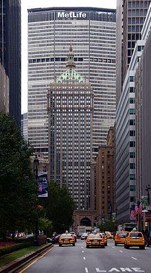 MetLife Building, Pan Am Building (New York, USA 1963) 246,3 m