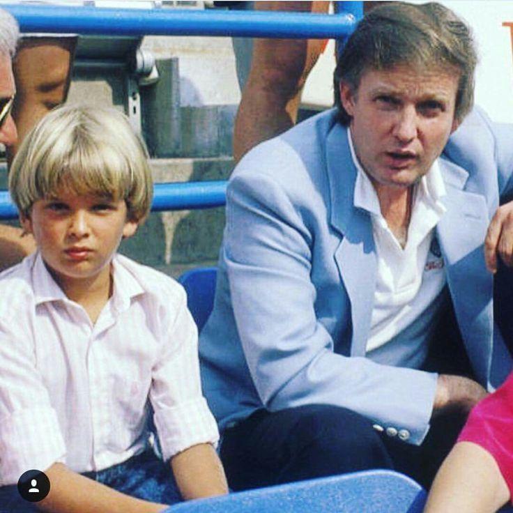 Donald Trump senior and junior