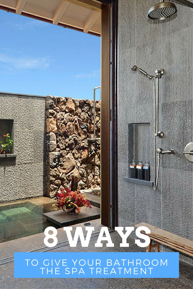 8 Ways to Give your Bathroom the Spa Treatment   Smith Brothers