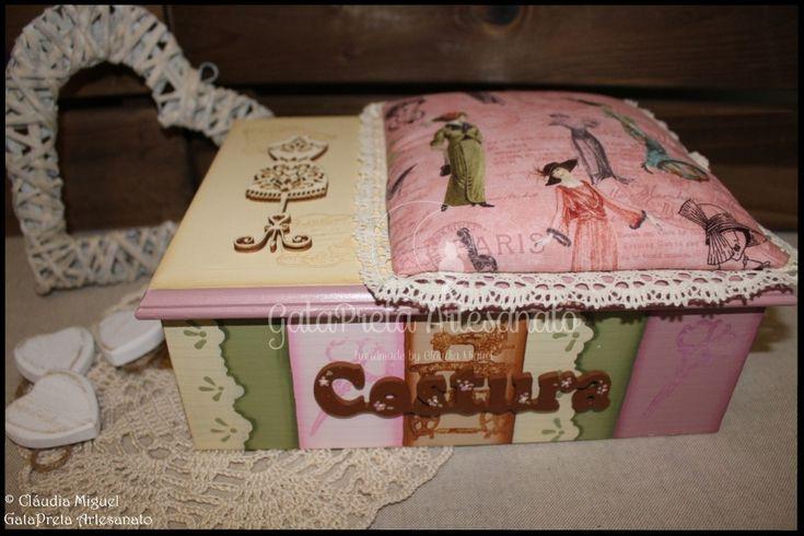 """Caixa de costura """"Divas Couture"""""""