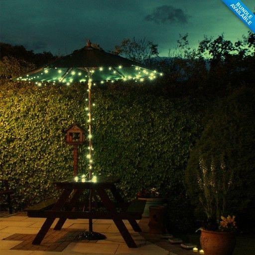 Kitosun 2 шт./лот 100 белый из светодиодов фея огней открытый сад из светодиодов строка фары для кустов, Деревья и беседки