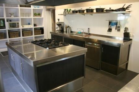 Semi professionele keuken rvs | Merito | UW-keuken.nl