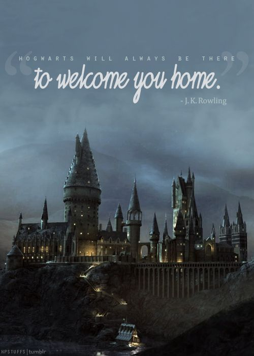 Home is where the <3 is & that's Hogwarts!