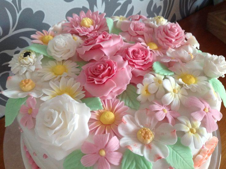 Verjaardagstaart voor mijn moeder