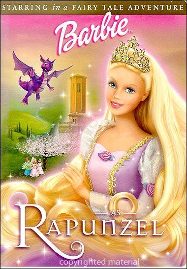 Barbie As Rapunzel (DVD 2002)   DVD Empire