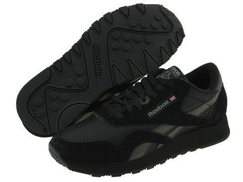 reebok mens classic nylon shoe