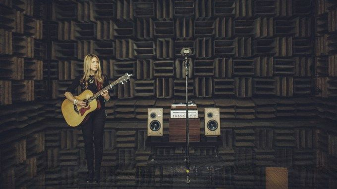 [TECH] Beatie Wolfe brings her new album Raw Space to life with augmented reality  Singer-songwriter Beatie Wolfe is using technology to try to recapture some of music's old-school magic and physicality. For the launch of her new album, Raw Space, Wolfe teamed up with Nokia Bell Labs and Design IO. Starting May 5, Bell Labs will be streaming 360-degree footage from its anechoic chamber — a room with no echoes, where a vinyl version of Raw Space will be playing. Read More  #BeatieWolfe…