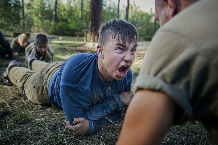 Azov Battalion Children's Summer Camp; UNICEF Foto des Jahres 2016