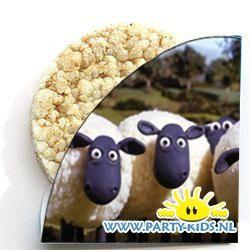 Shaun het schaap rijstwafel wikkel