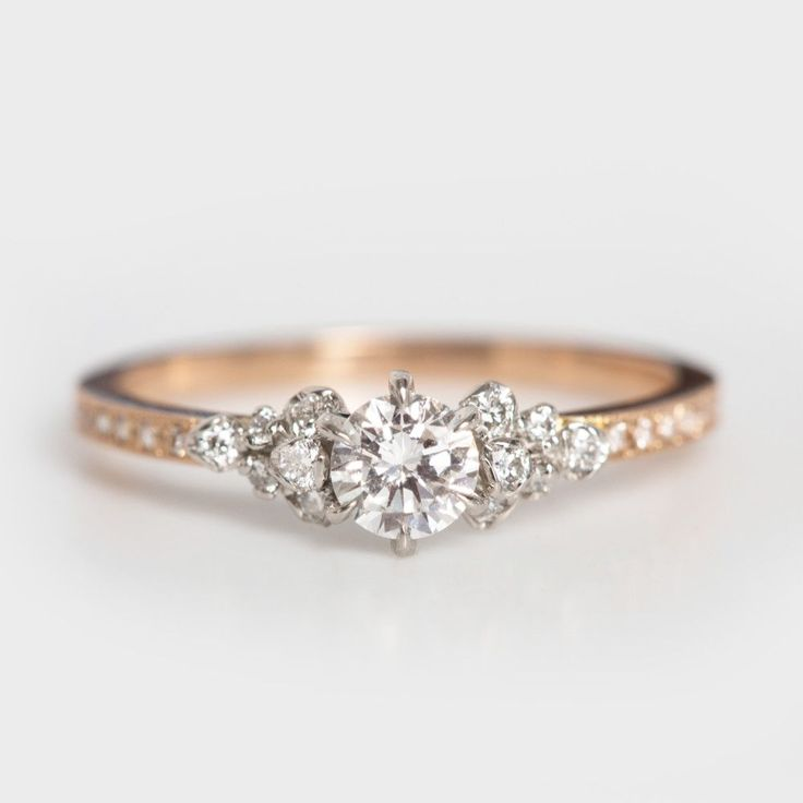 Japanese Rose Ring - Wedding & Engagement - Catbird. This is one of my absolute favorite rings!