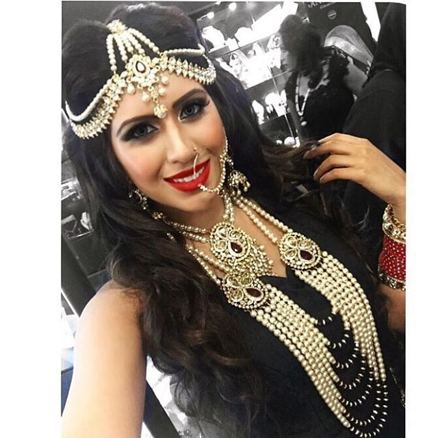 Asian Bride 2015, Olympia Hair & Make up by PKB London Jewellery by Kyles Collection #PKBLondon #makeupartist #jewellery #asianbride #hair #wedding #hairstylist #tikka #blackdress #updo #instabeauty #makeup #bride @kylescollection @girls_attitude @nazilaloveglam @maccosmetics @bobbibrown @anastasiabeverlyhills @ctilburymakeup @motivescosmetics @asianbrideme