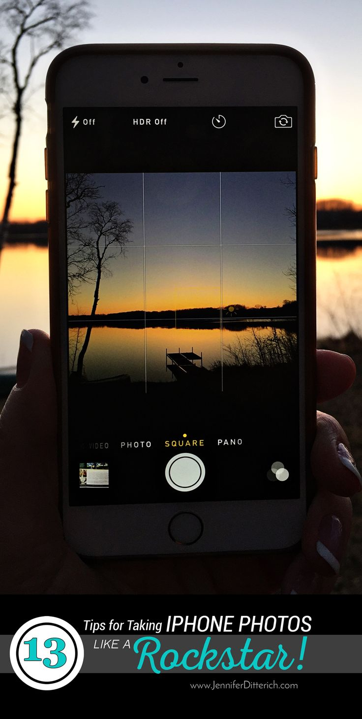 13 Tips for Taking iPhone Photos Like a Rockstar! These easy tricks for iPhone photography will make your photos look amazing and impress your friends.