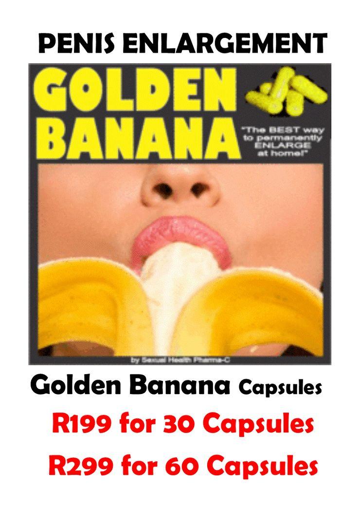 30 GOLDEN BANANA PENIS ENLARGEMENT CAPSILES