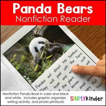 FREE Panda Bear Nonfiction UnitBuy this as part of a BUNDLE and save! Nonfiction Reader BUNDLEIncluded in this download is:One Panda Bear reader using real images and loaded with facts.  Most items come in color and black and white.Also includes printables with those same images that include:- comprehension questions- graphic organizer for each image (bubble maps)- two page with all 7 images on it so students can pick one image to write about- full print outs of the images included to use…