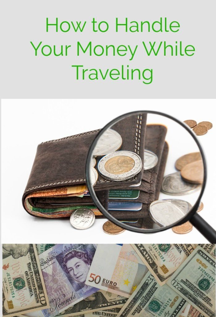 """We help to answer these common travel questions: """"What's the best way to handle my money while traveling? Where should I store my money? What should I do if I can't use an ATM to get cash?"""""""