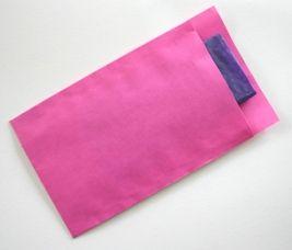 Ompak cadeauverpakkingen - kraft zakjes roze