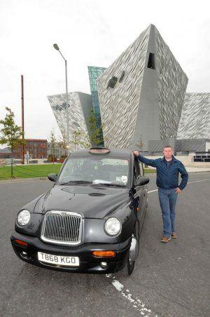 Votre séjour à Belfast, en taxi londonien