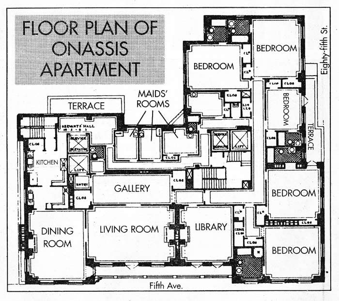 Kennedy Onis 1040 Fifth Ave Apartment Floor Plan