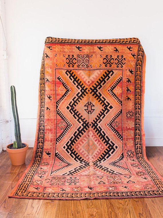 Tapis Vintage A Bejaad Marocain L Ava Tapis Berberes Tapis