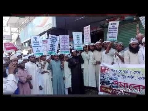 Stop Genocide Innocent Rohingya Muslims Myanmar in Arakan North