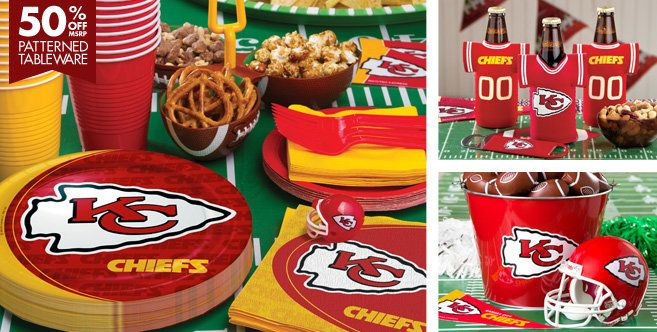 NFL Kansas City Chiefs Party Supplies - Party City