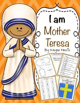 Teach students about an important person in Women's History, Mother Teresa! This unit is excellent to use during Women's History Month, or any other time of the year. Students will love learning about Mother Teresa and participating in these activities and crafts!