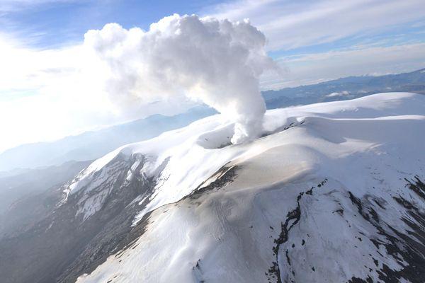 volcan del ruiz   en Manizalez Colombia